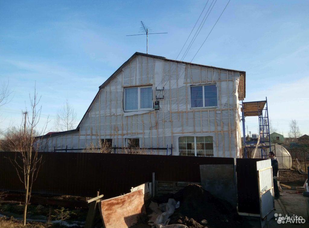 Отделка фасадов (сайдинг, вагонка, блок-хаус и др)  89509169461 купить 1