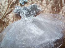 Платье с аксессуарами нарядное