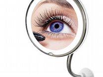Зеркало для макияжа с подсветкой 10x Mirror