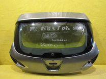 Крышка багажника Opel Astra J 09-16г 3295