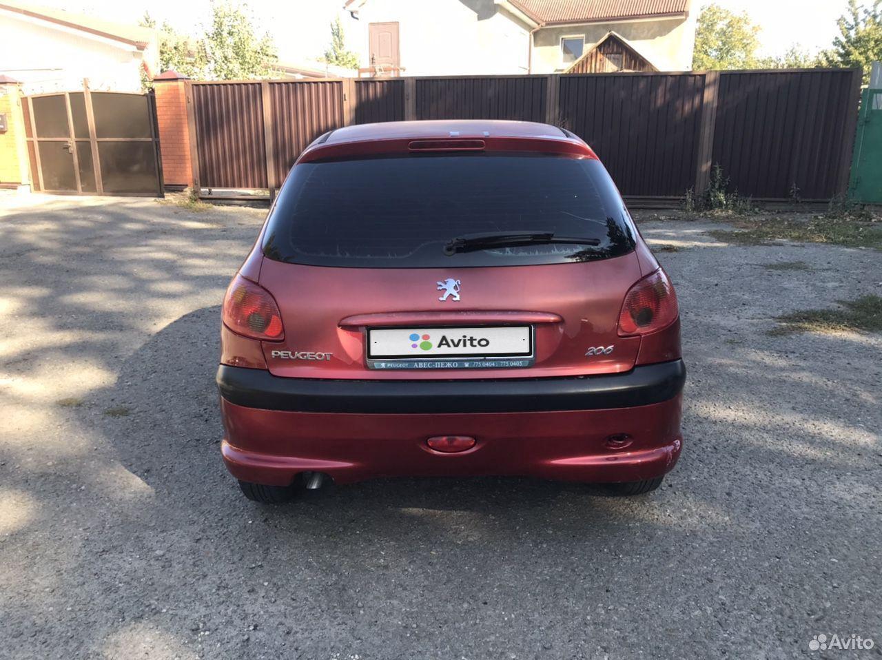 Peugeot 206, 2006  89185307647 купить 2