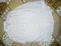 Блузка белая в отличном состоянии стильная