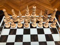 Шахматы ручной работы «Крепость»