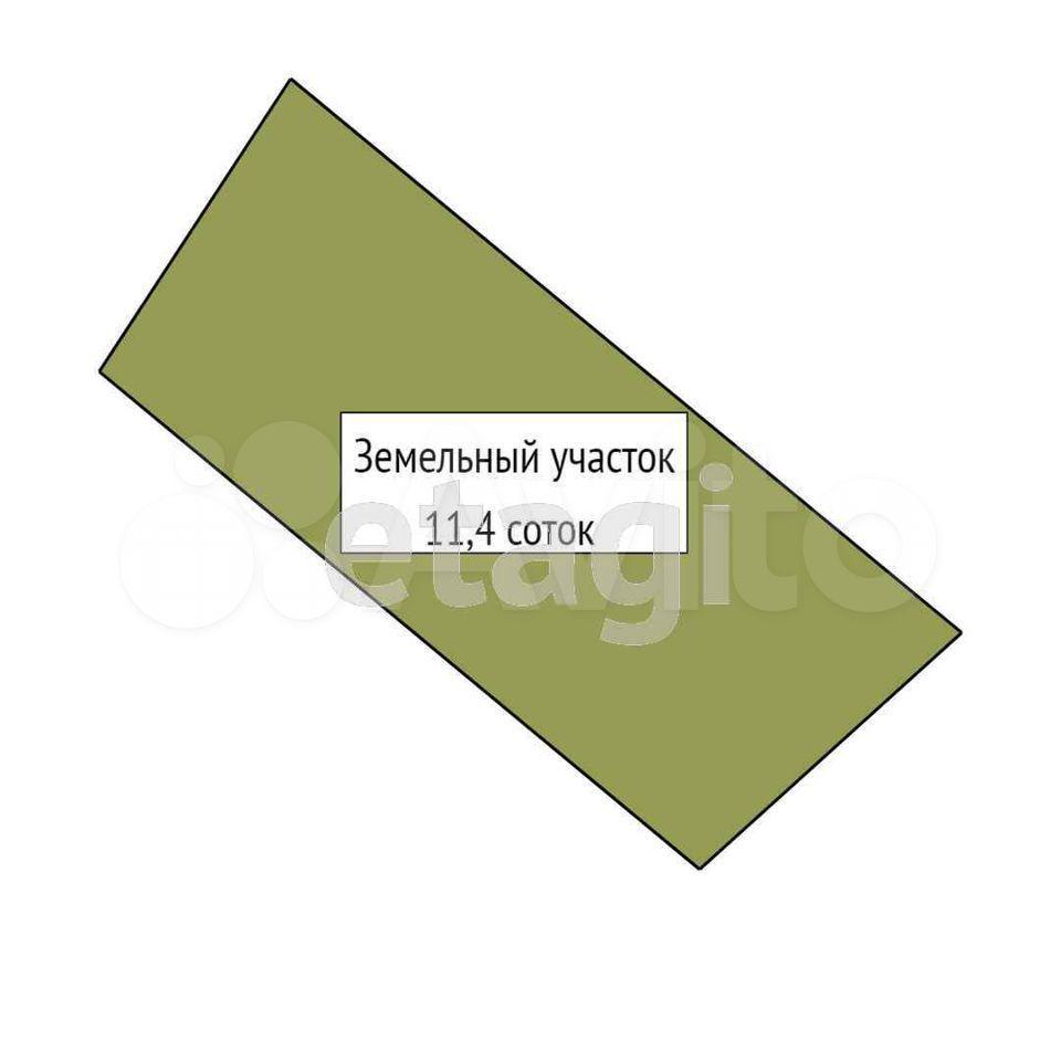 Участок 11.4 сот. (ИЖС)  89610020640 купить 10
