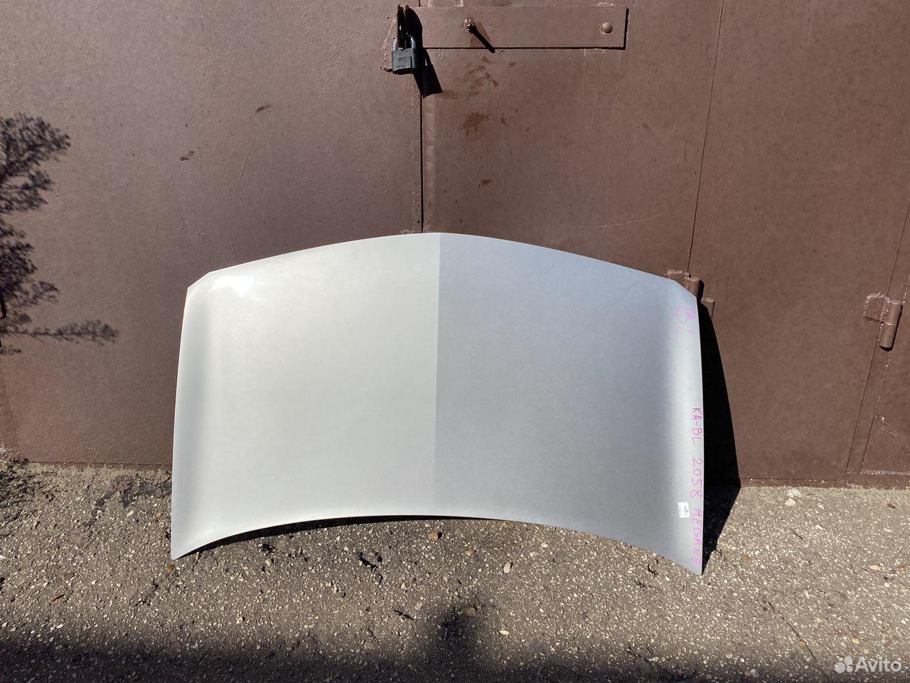 Капот серебристый Renault Megane 2  89534684247 купить 1