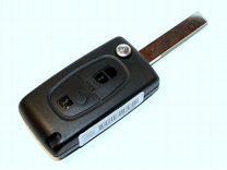 Ключ Пежо / Peugeot, 2 кнопки 433 Мгц, 6490EE