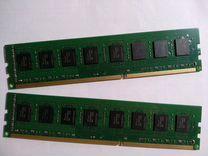 Память оперативная DDR3 16(2x8) Gb. для настольнпк