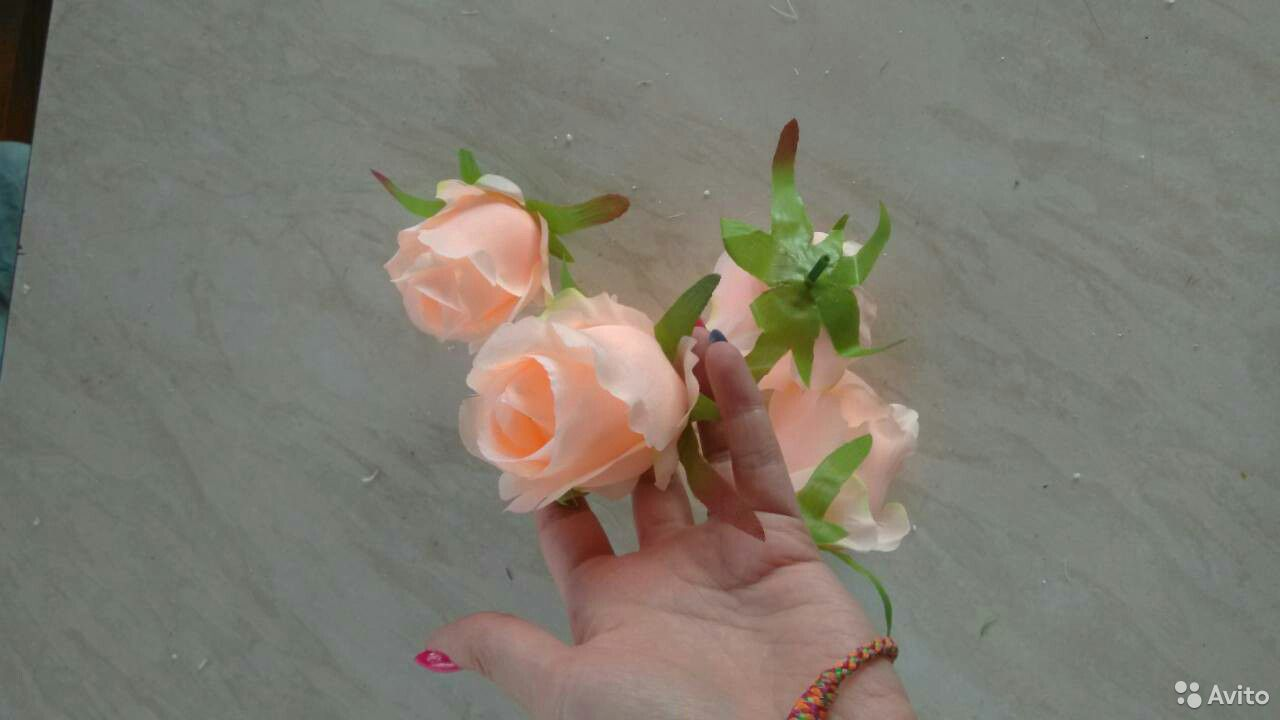 Цветы искусственные для декора  89323259045 купить 7