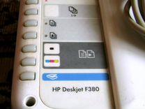 """Мфу """"HP Deskjet F380"""" 2007 года, без картриджей"""