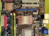 Процессор Intel Pentium Dual-Core 2.2GHZ + Материн