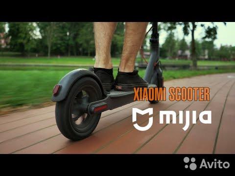 Xiaomi Mijia M365 7800 mAh черный на бульваре)